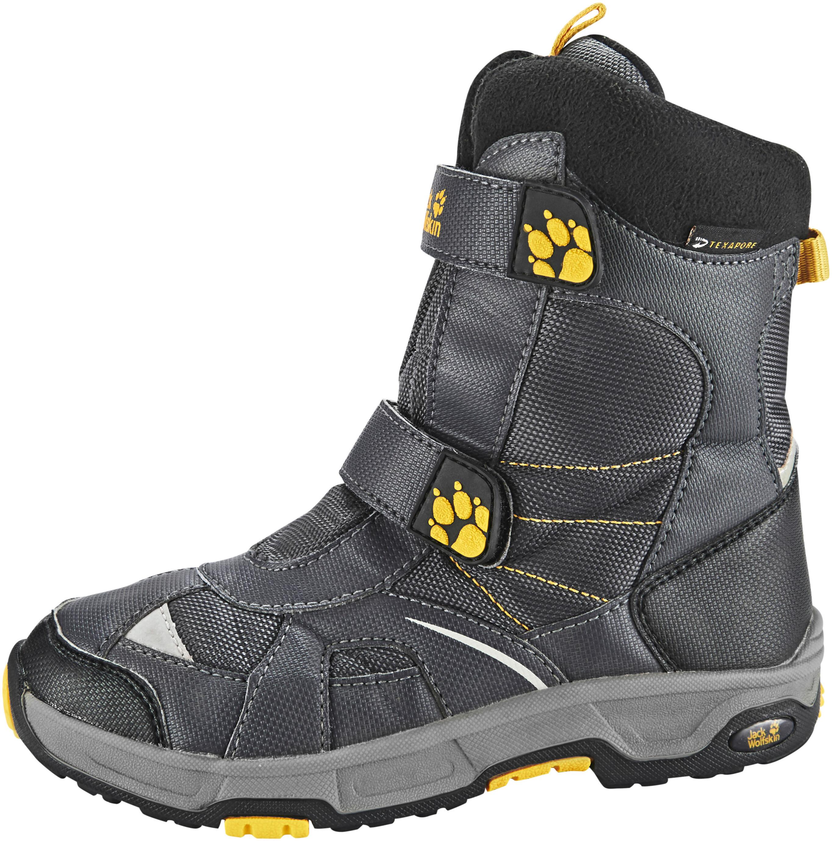 9ec9d3010ad793 Jack Wolfskin Polar Bear Texapore Winter Boots High Cut Boys burly yellow XT